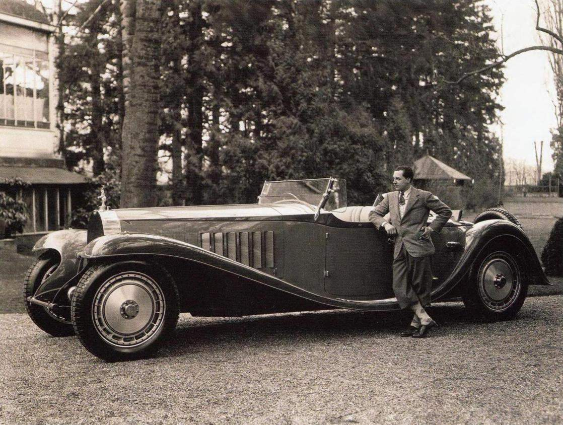 Jean Bugatti, the eldest son and first assistant of the great designer
