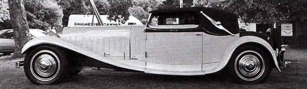 Bugatti Туре 41 Royale Weinberger Cabriolet — суперпрестижный «королевский» автомобиль, выпущенный предприятием Этторе Бугатти в 1932 году. Дизайн автомобиля был разработан в мюнхенском кузовном ателье Людвига Вайнбергера