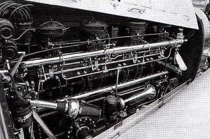 8-цилиндровый 260-сильный двигатель для автомобилей «королевской» серии