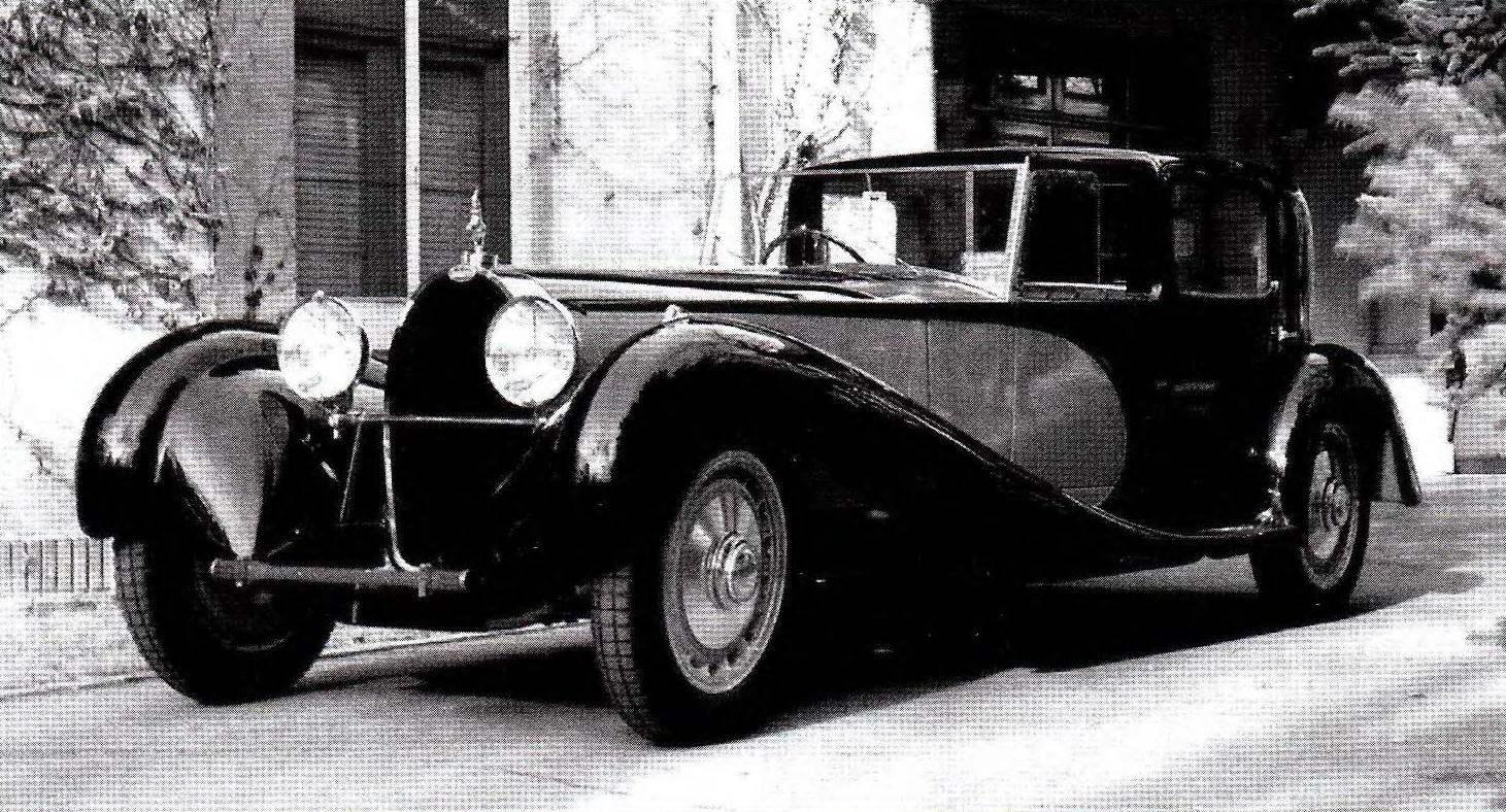 Яркий представитель автомобилей 41-й серии — Bugatti Туре 41 Royale Coupe Napoleon