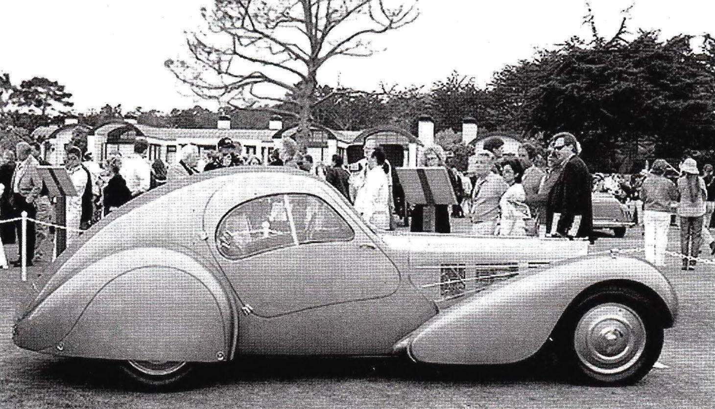 Bugatti Туре 57 Atlantic