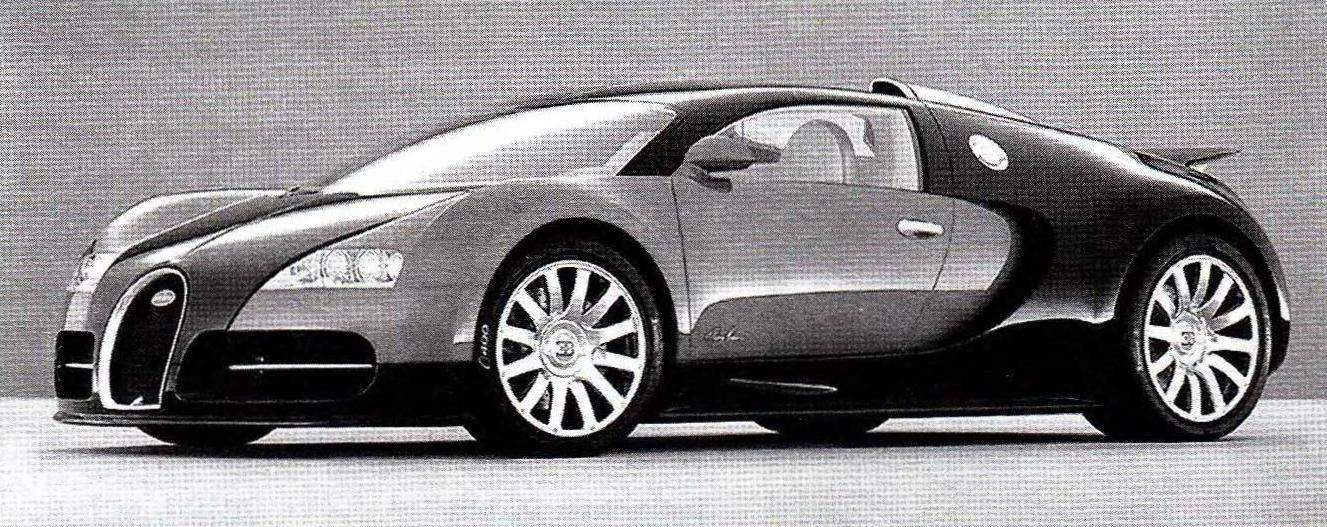 Сегодня марку с брендом Bugatti носят автомобили, выпускаемые концерном Volkswagen. На снимках — суперкар ЕВ 14.4 Veyron, развивающий скорость до 300 км/ч