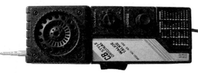 Внешний вид радиостанции СВ NS-881