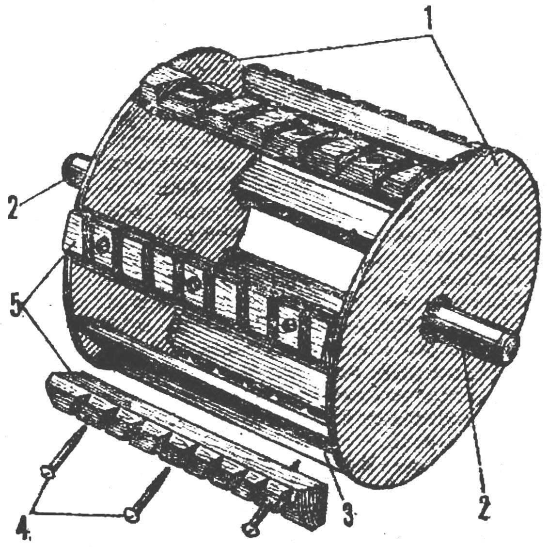 Молотильный барабан