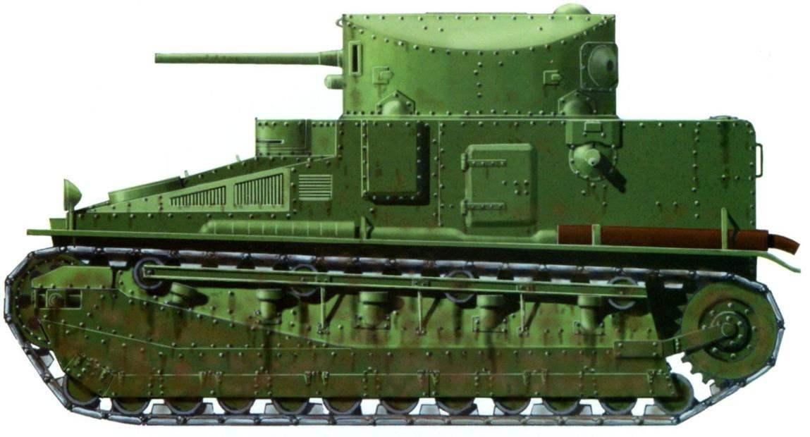 Средний танк «Виккерс Медиум» Мк.II «Спешл» армии Австралии