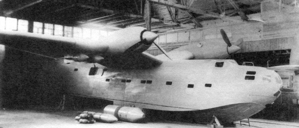 Макет летающей лодки ЛЛ-143