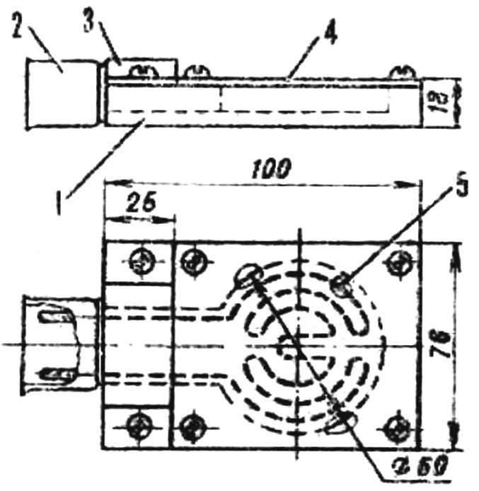 Схема электроплитки