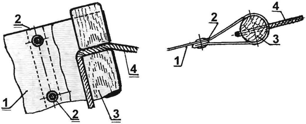 Рис. 2. Торцевая заделка гамака
