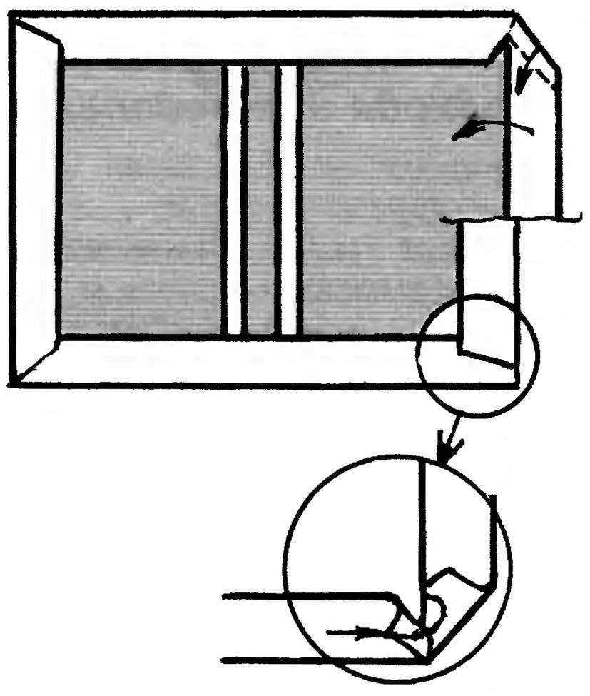 Fig. 12. Bending the edges of the cover