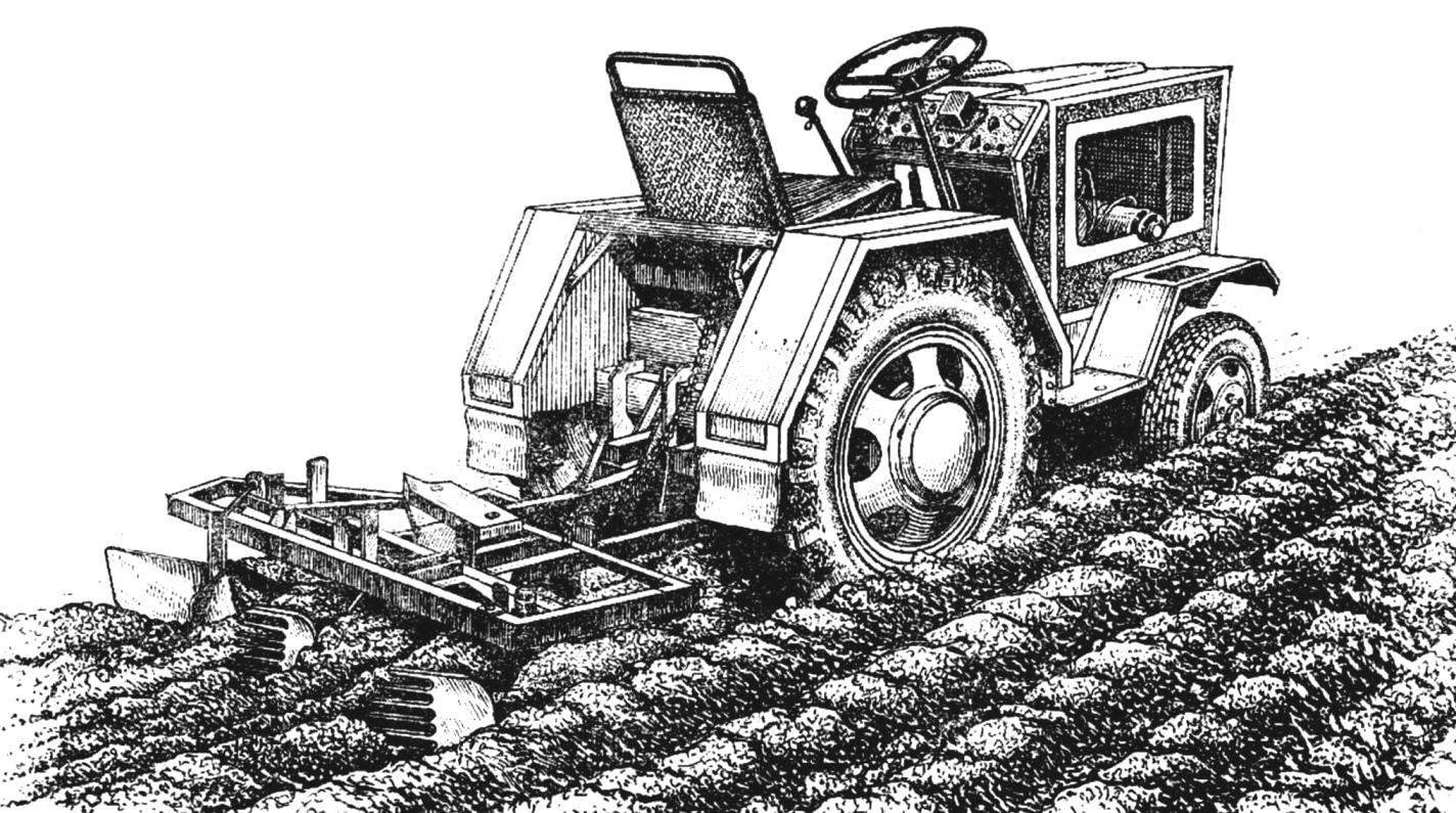 MINI-TRACTOR FROM THE PLOW