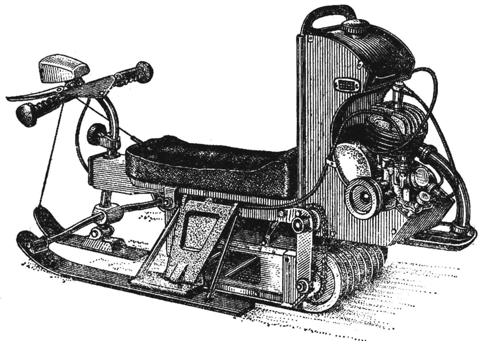 Мотонарты «Чук к Гек» — оригинальная модернизация промышленного снегоката.