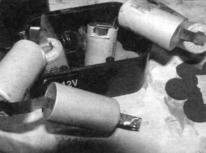 Разрыв цепи аккумуляторных элементов