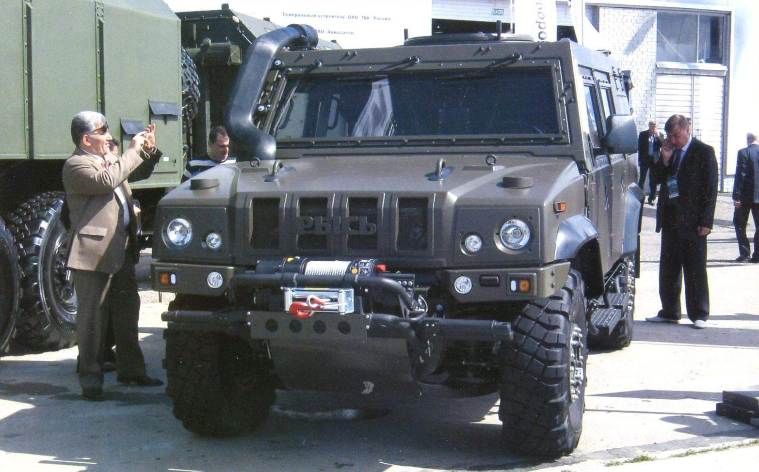 ARMORED CAR IVECO UNDER THE BRAND NAME