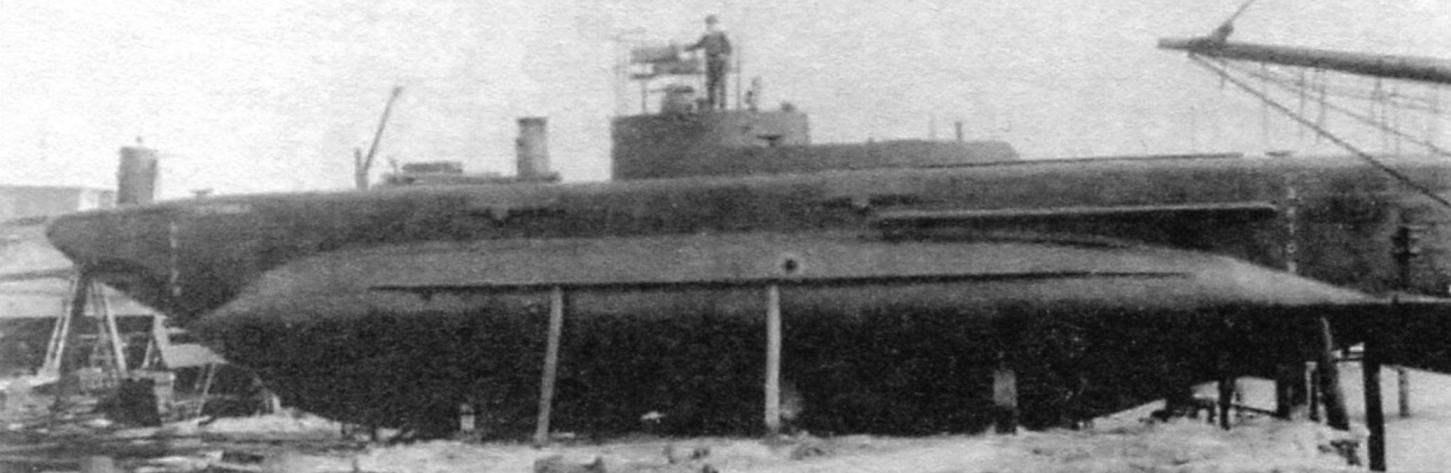 Подводная лодка «L-ХV» («Дифендер») конструкции Лэйка, США, 1906 г.
