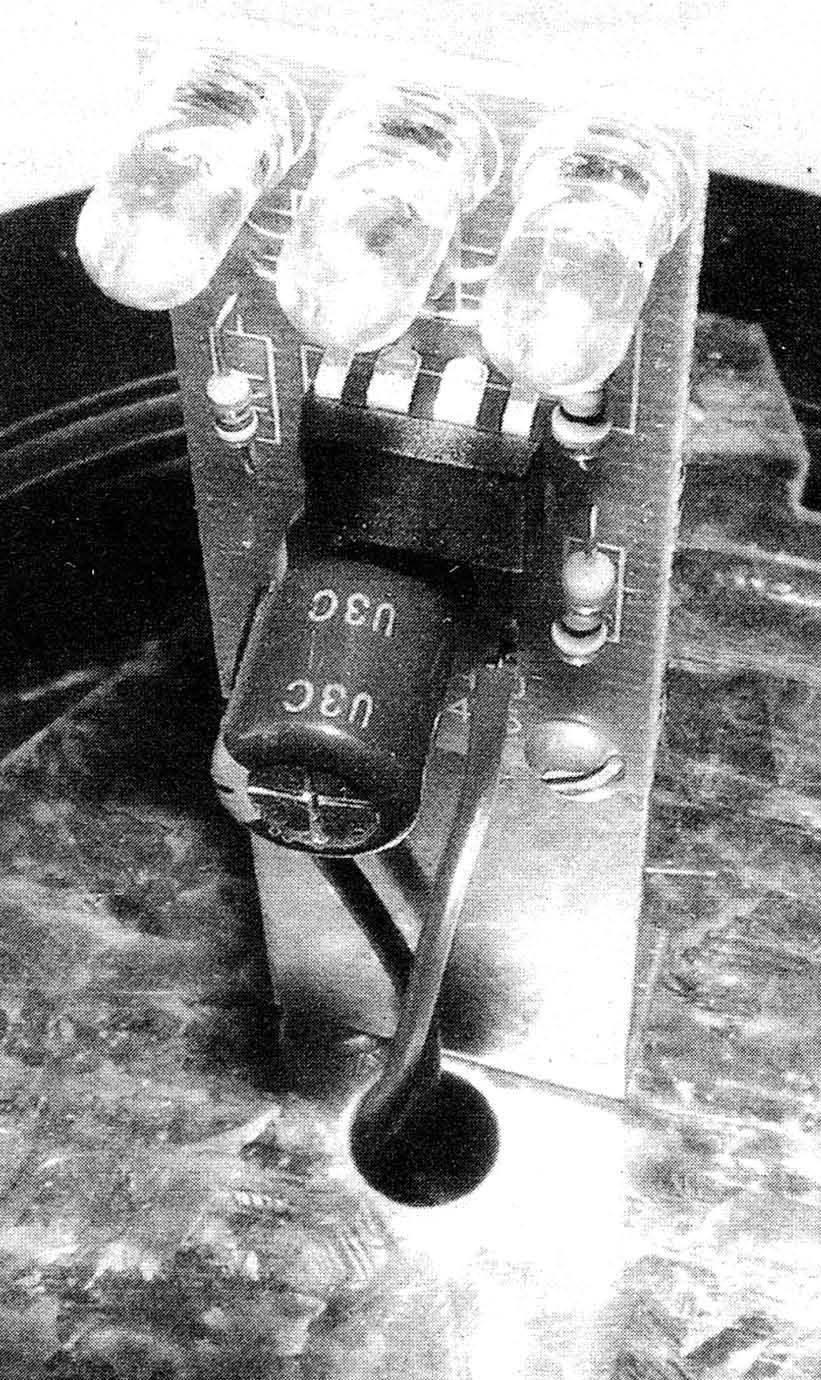 Плата со светодиодами, устанавливаемая в штатный корпус проблескового маячка