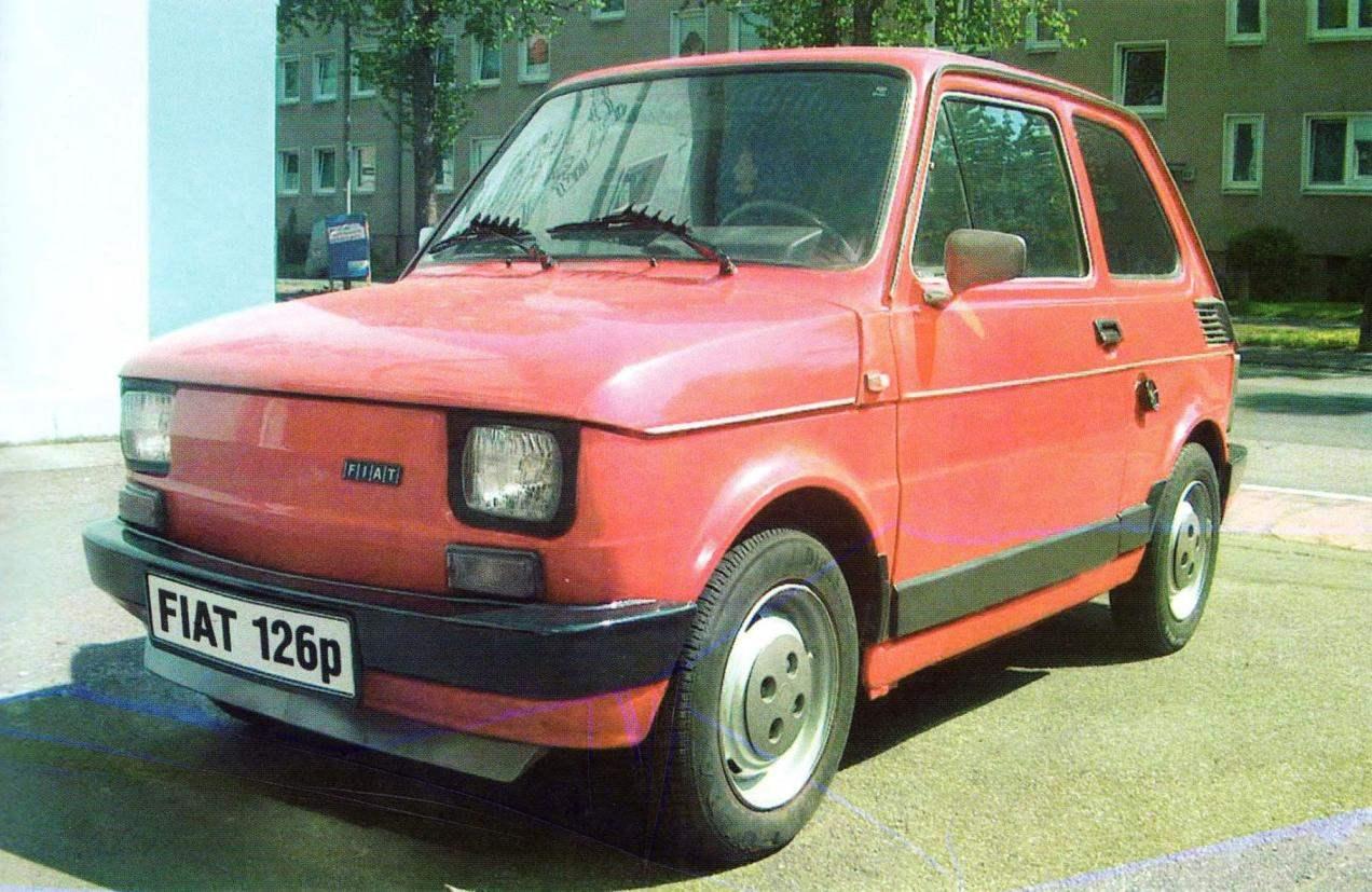 Polski Fiat 126 p, modification of 1984 (Poland)
