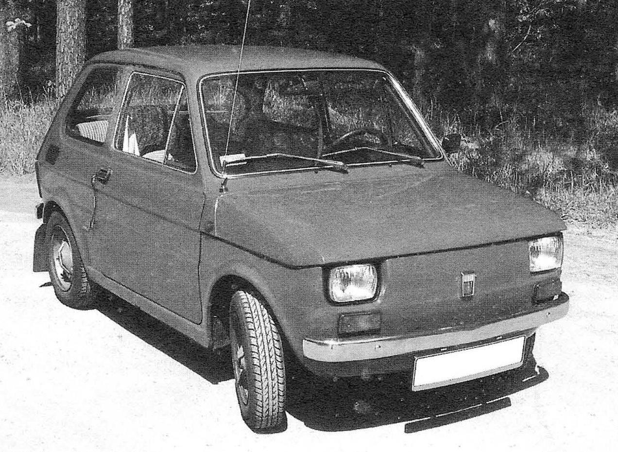 Компактный малолитражный автомобиль Polski FIAT 126 р