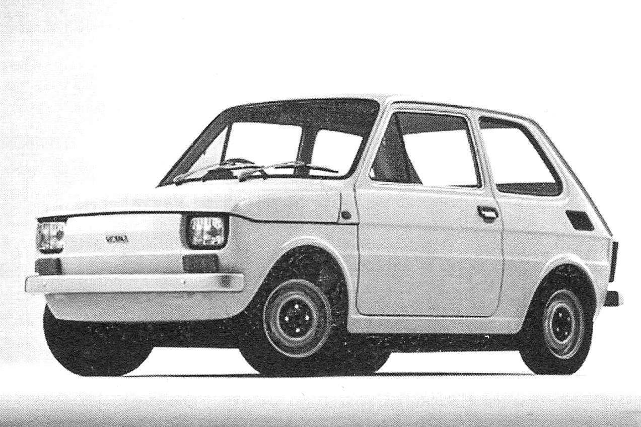 Compact sedan Polski FIAT 126 p
