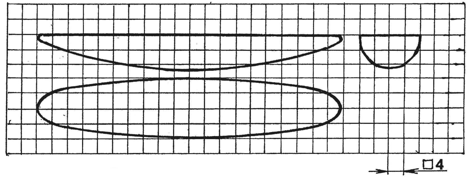 Кельтская «лодочка» и её проекции в натуральную величину