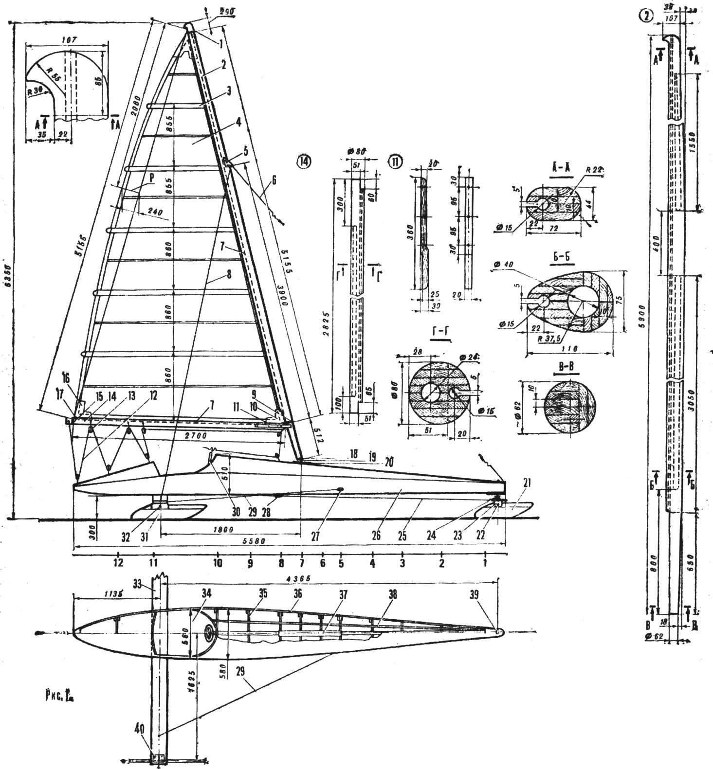Рис. 1. Буер-«восьмиметровик»
