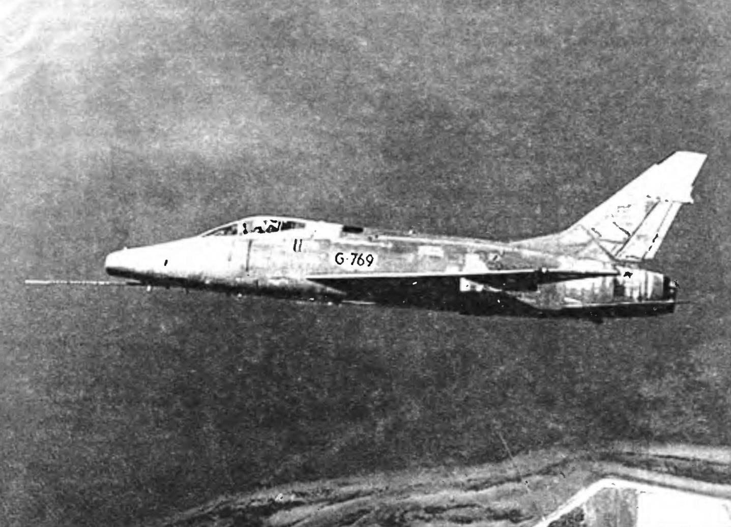 F-100D ВВС Дании