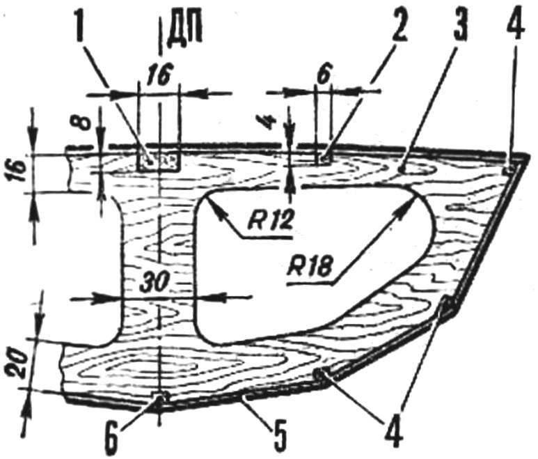 Конструкция шпангоута
