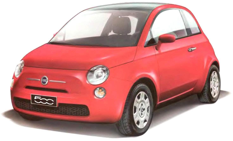 FIAT-500 выпуска 2007 г.