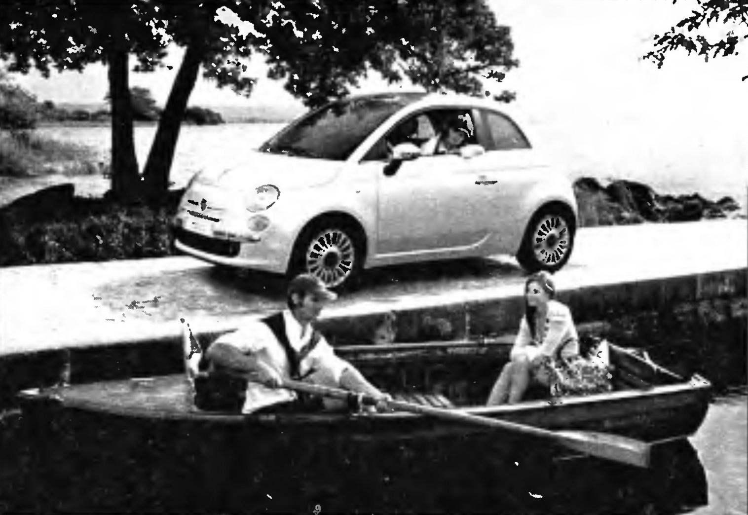 Car FIАТ-500 issue 2007