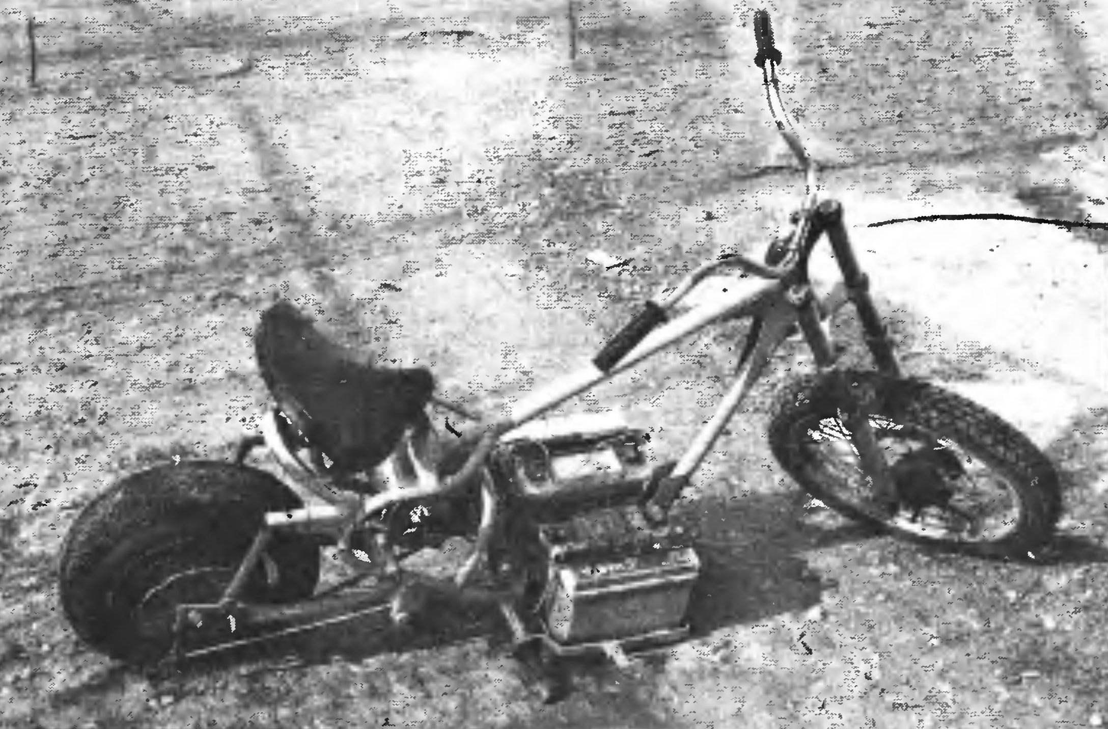 Электроцикл готов к действию