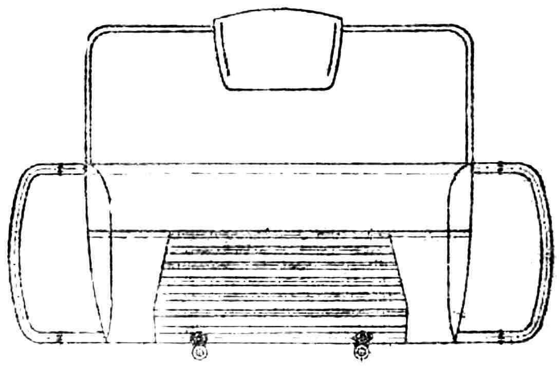 Рис. 3. Вид на декоративную облицовку спереди.