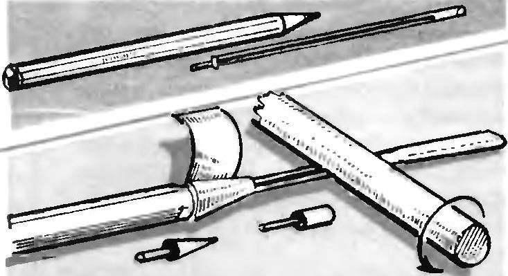 Eternal pen