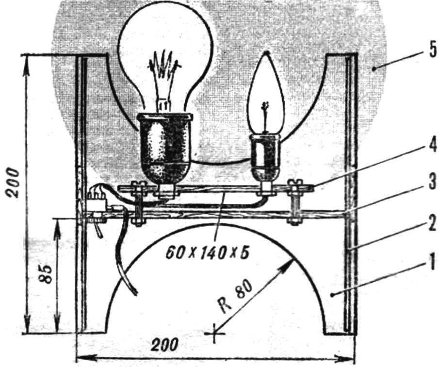 Настольно-напольный светильник