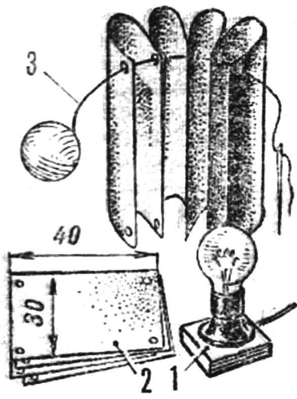 Декоративный светильник