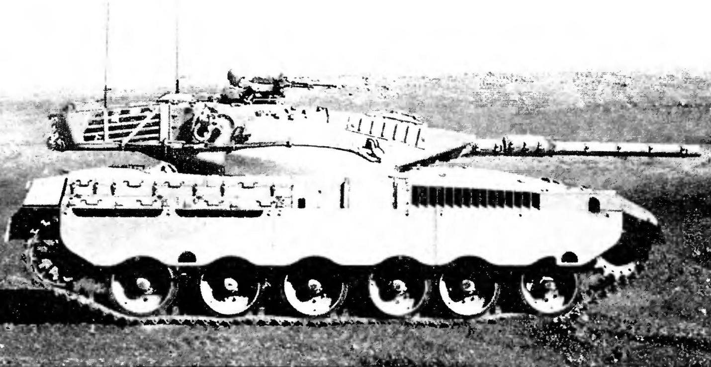 Танк «Меркава» Мк.1.