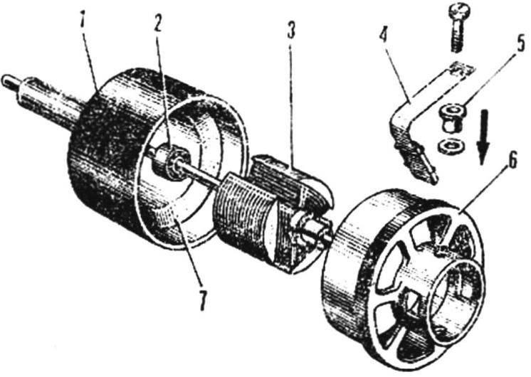 Рис. 4. Двигатель