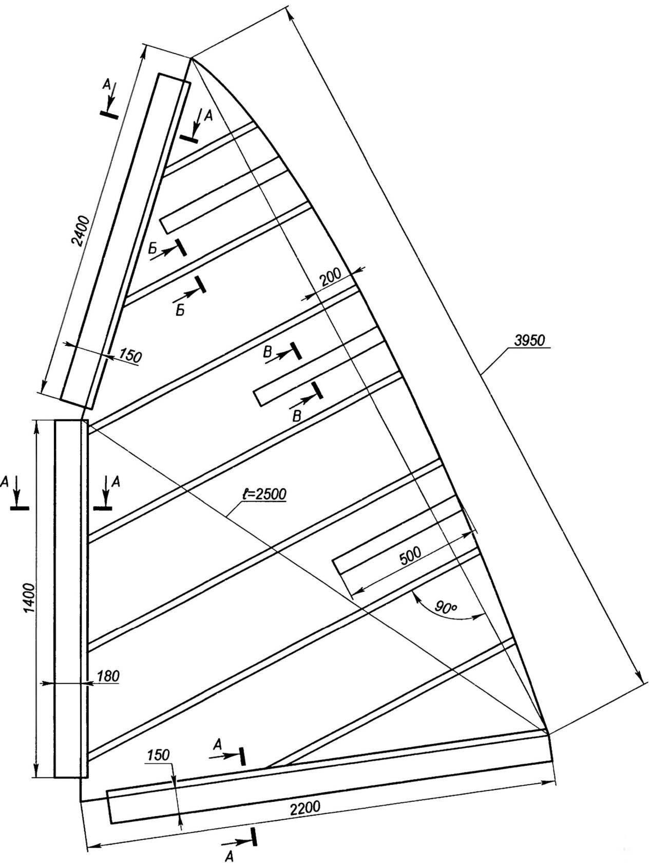 ДП—диаметральная плоскость ОЛ—основная линия