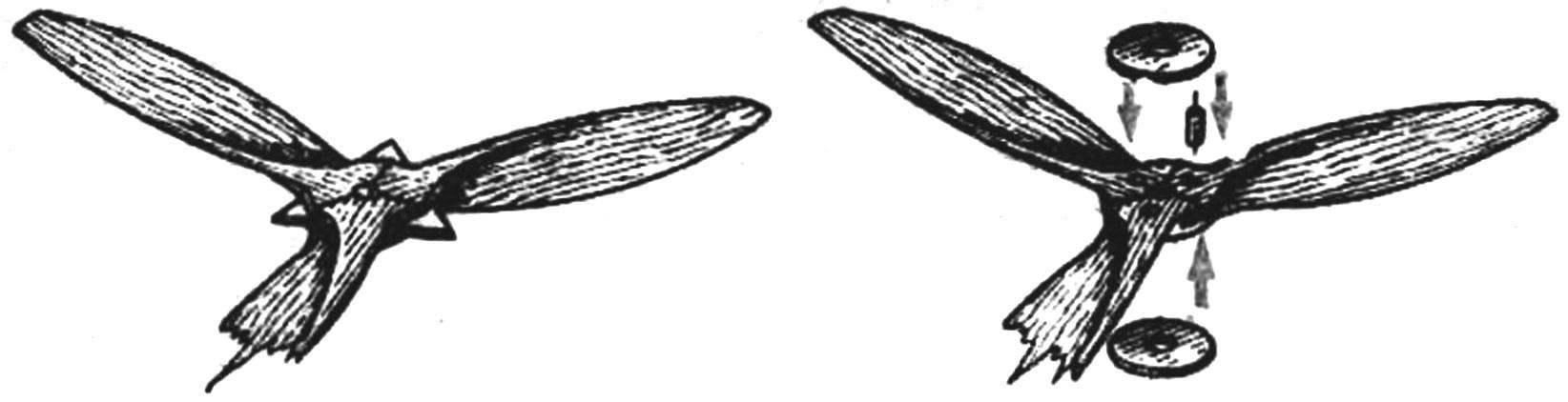 Рис. 3. Сборка пропеллера.