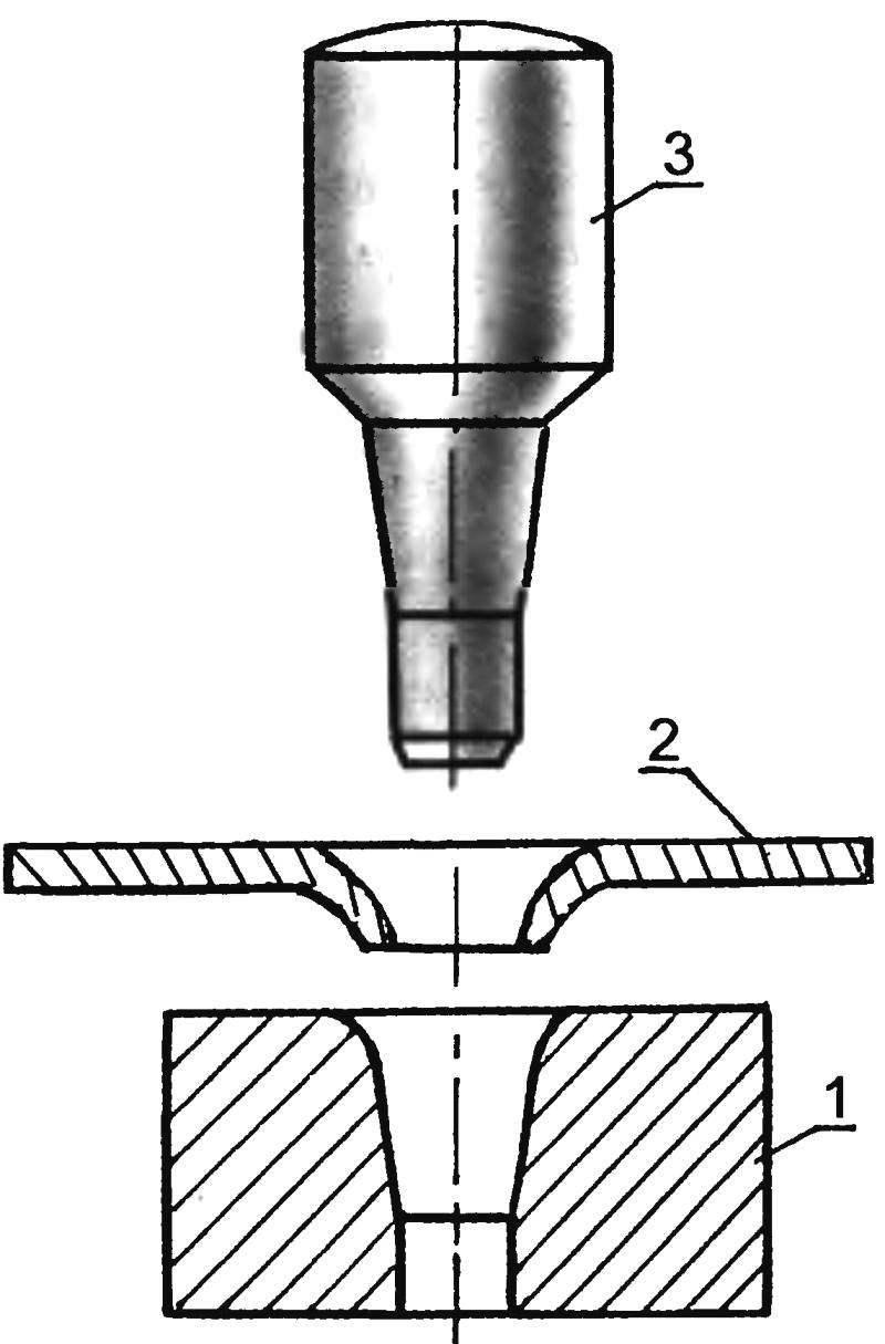 Рис. 15. Штамп для изготовления решёток