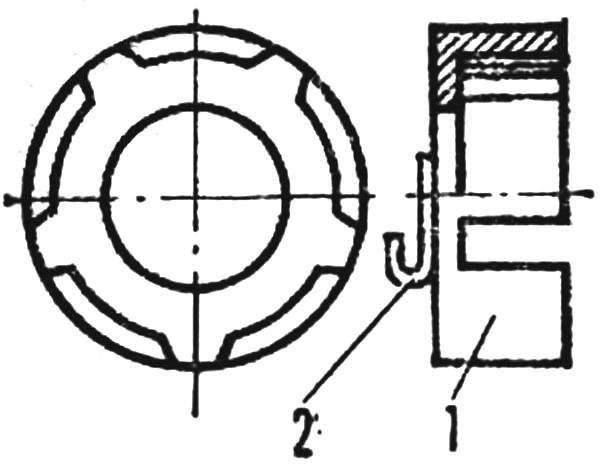 Рис. 5. Доработка сепаратора втулки