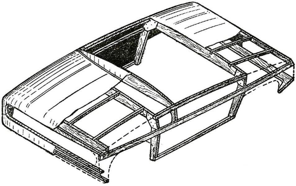 Рис. 2. Конструкция кузова