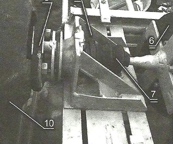 Привод бетоносмесителя (вид слева)