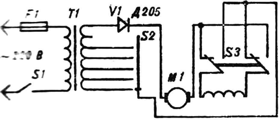 Рис. 3. Электрическая схема.