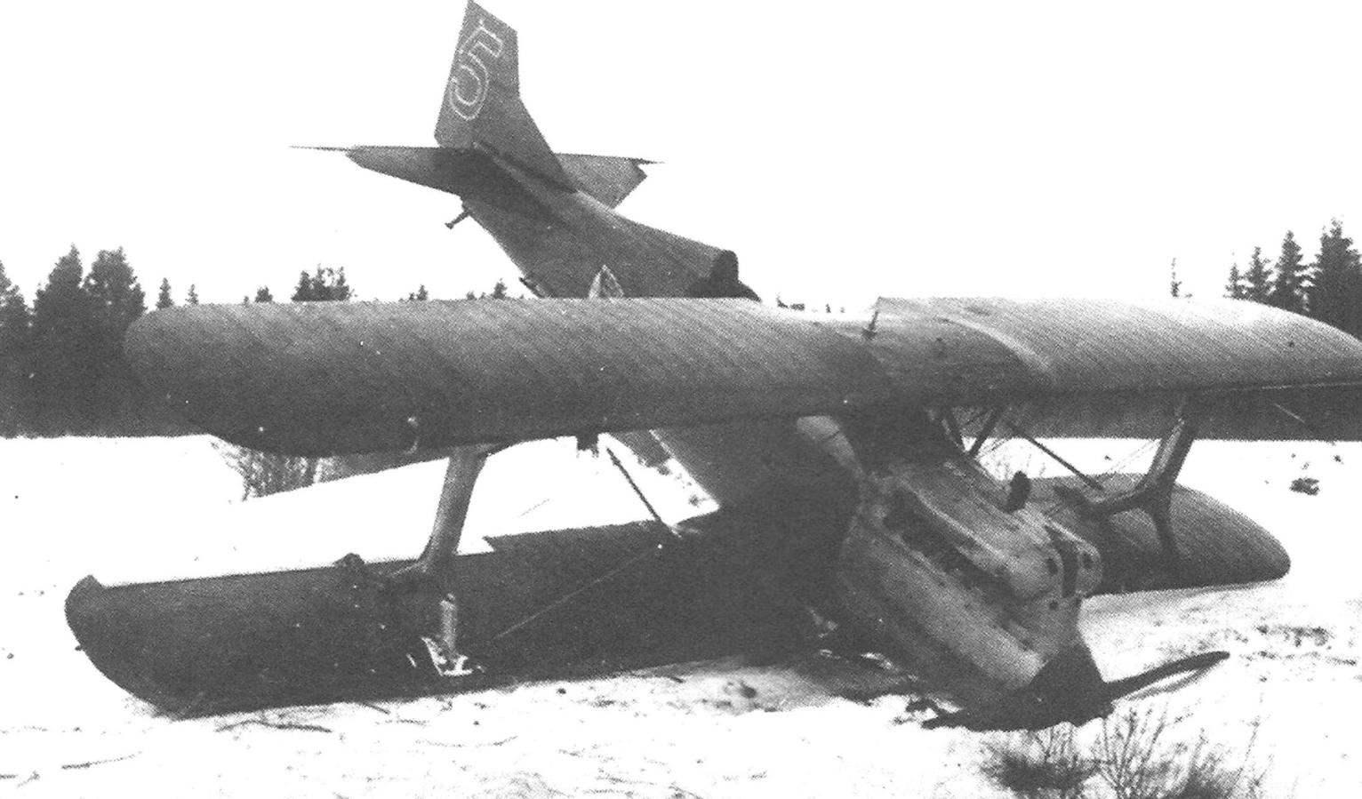 Авария И-2бис, Ленинградский военный округ, 1929 г.