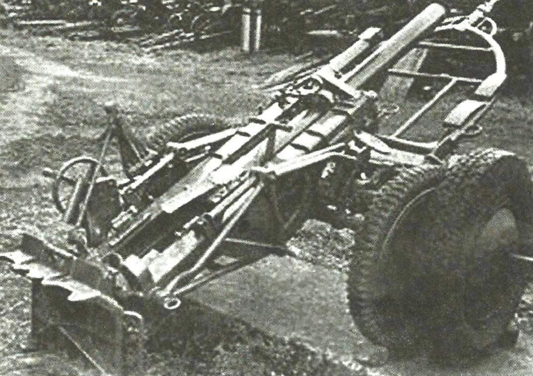 10-см «дымовой» миномёт обр. 1940 г. 10 cm Nb.Wrf 40