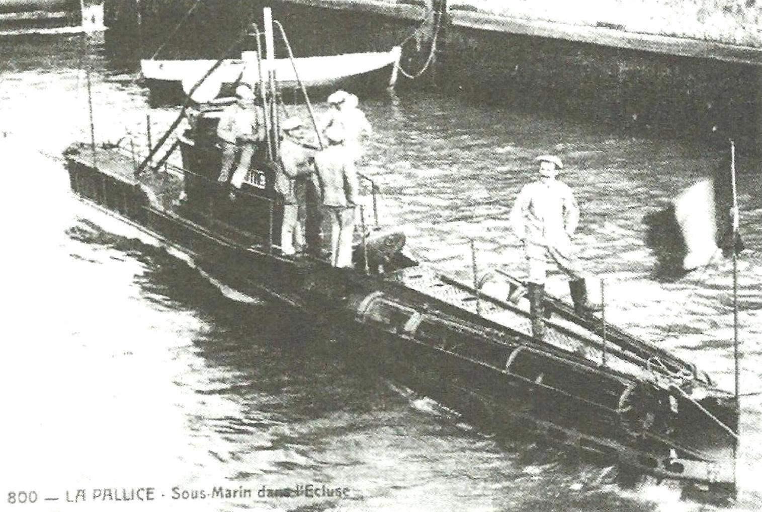 Подводная лодка «Наяд» Г. Ромазотти, Франция, 1904 г.