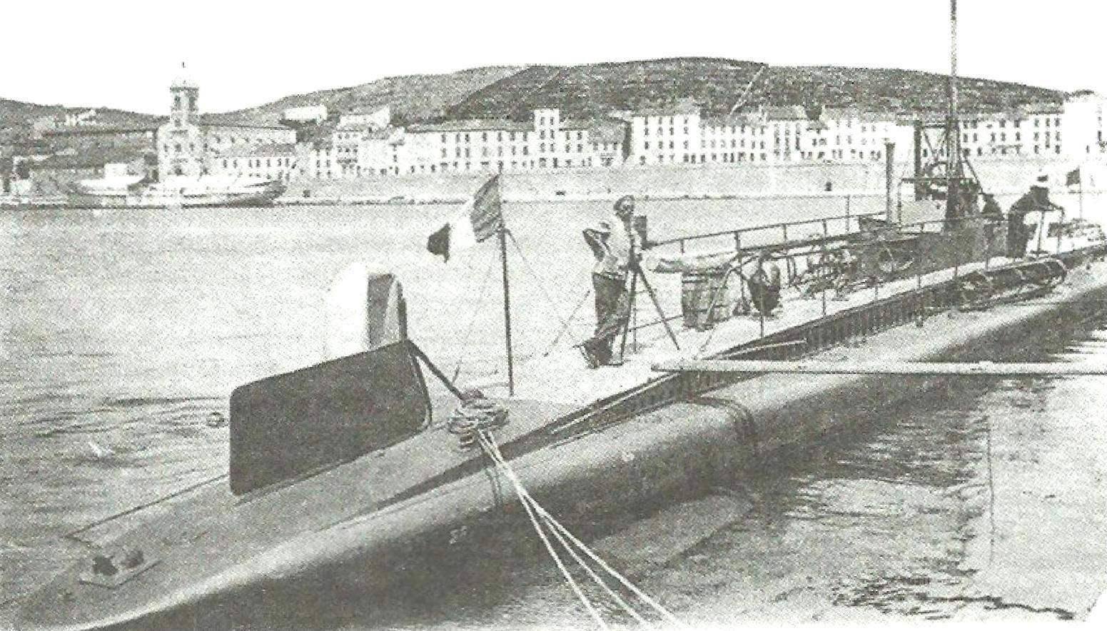 Подводная лодка «Эгрет», Франция, 1904 г.