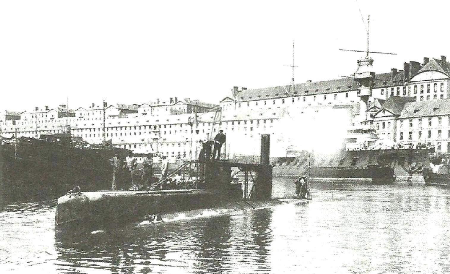 Подводная лодка «Z» Mora, Франция, 1905 г.