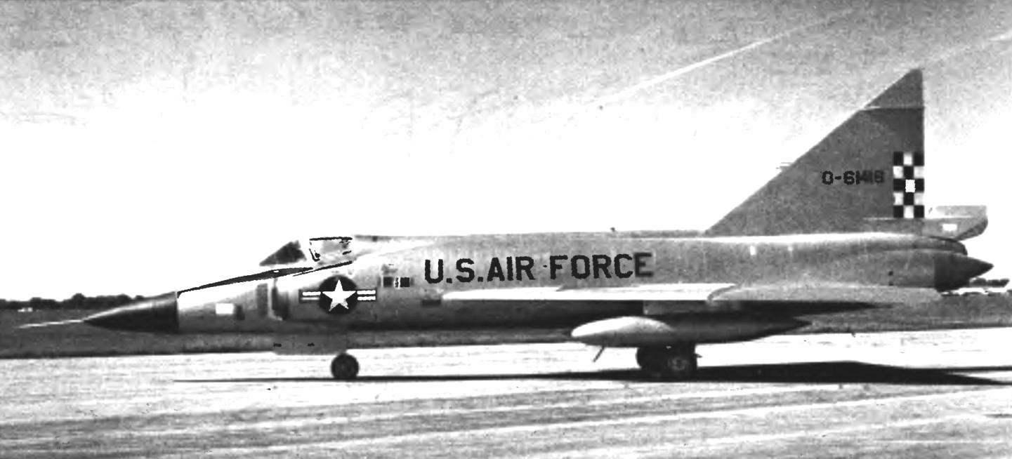 F-102А в экспозиции Национального музея ВВС США (Дэйтон, штат Огайо )— фото USAF