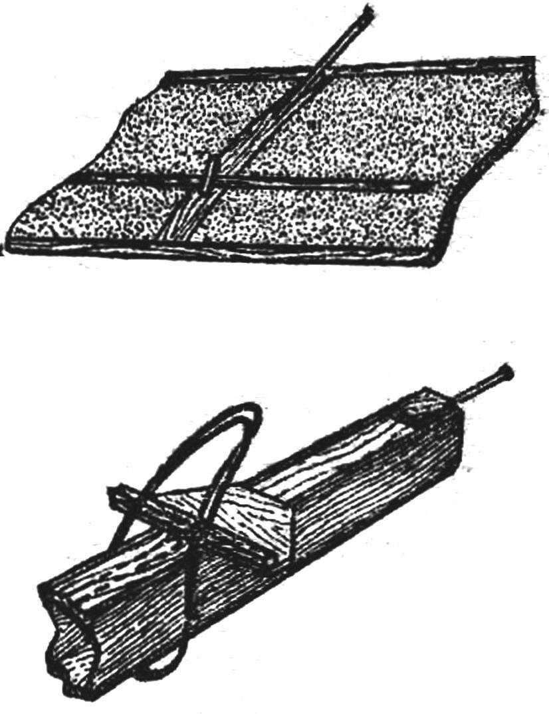 Установка стабилизатора на хвостовой части фюзеляжа.
