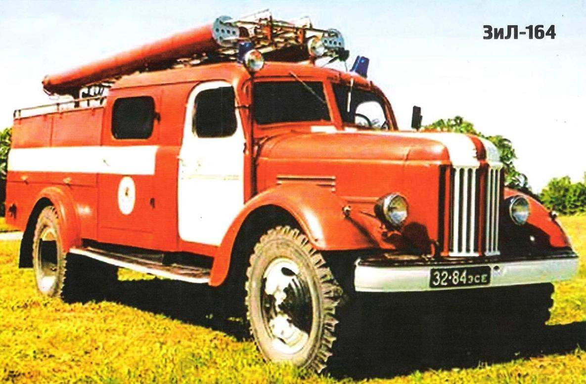The FIRST post-war TRUCK ZIS-150 and ZIL-164